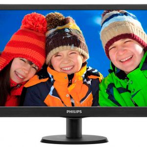 MONITOR 193V5LSB2 LED 18,5″ BLACK – PHILIPS