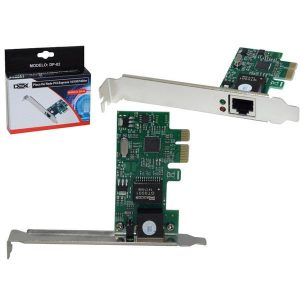 PLACA DE REDE 10/100/1000 PCI EXPRESS DP-02 – DEX