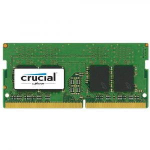 Memória Crucial 4GB 2400Mhz p/ Notebook DDR4 CL17 – CT4G4SFS824A