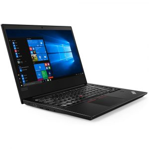 Notebook Lenovo E480 Intel Core i5-8250U, RAM 8GB, SSD 256GB, 14″, Windows 10 Pro, Preto – 20KQA01PBR