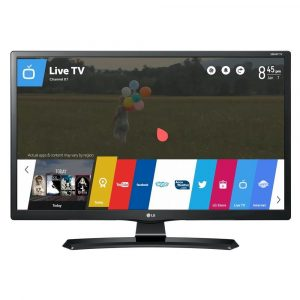 Smart TV Monitor LG 28″, LCD LED, HD, 8ms, HDMI, USB, Preto – 28MT49S-PS