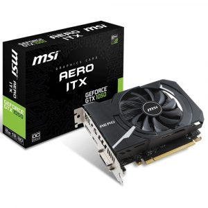 Placa de Vídeo MSI GeForce GTX 1050 Aero 2GB 912-V809-2455