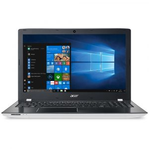 Notebook Acer Aspire E15, AMD A10-9600P, 4GB, 1TB, AMD Radeon R7 M440 2GB, Windows 10 Home, 15.6″, Branco e Preto – E5-553G-T4TJ
