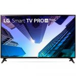 Smart TV LED 43″ Full HD LG, Conversor Digital, 2 HDMI, USB, Wi-Fi, HDR, ThinQ – 43LK571C