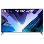 Smart TV LED 75″ 4K LG, Conversor Digital, 4 HDMI, 2 USB, Wi-Fi, ThinQ – 75UK651C