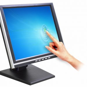 Monitor Touch Screen K-Mex Lcd 15″ Preto E Prata LP-1512