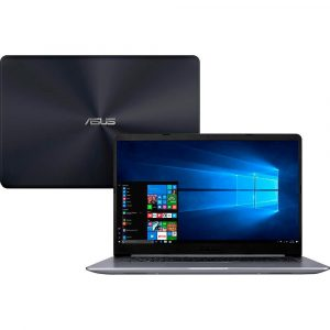Notebook Asus VivoBook 15, Intel Core i5-8250U, 8GB, 1TB, NVIDIA GeForce 930MX 2GB, Windows 10 Home, 15.6″, Cinza – X510UR-BQ291T