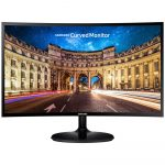 Monitor Samsung LED 24″ Widescreen Curvo, Full HD, HDMI/VGA, FreeSync – LC24F390FHLMZD